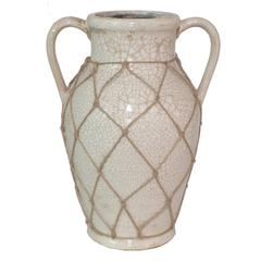 Unique Cream Color Ceramic Vase