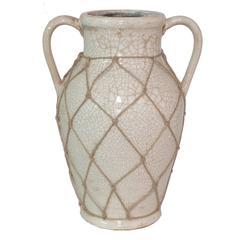 Benzara Unique Cream Color Ceramic Vase