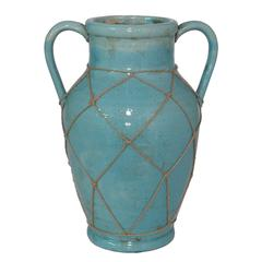 Enthralling Blue Color Porcelain Vase