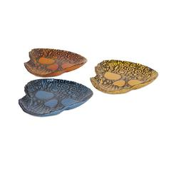 Merida Glass Dishes - Ast 3, Multicolor