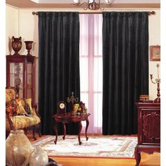 "Black Velvet Drape 55""X 96"" Each Panel"