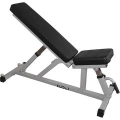 Valor Fitness DD-21 Incline / Flat Utility Bench with Wheels
