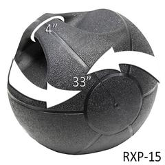 15lb. Medicine Ball with Grips