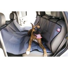 Majestic Grey Universal Waterproof Hammock Back Seat Cover By Majestic Pet Products