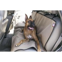 Majestic Tan Universal Waterproof Back Seat Cover By Majestic Pet Products