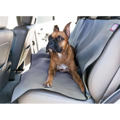 Grey Universal Waterproof Back Seat Cover By Pet Products