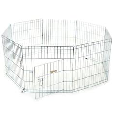 "24"" Exercise Pen By Pet Products-Small"