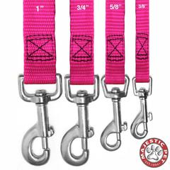 5/8in x 4ft Lead Pink By Pet Products