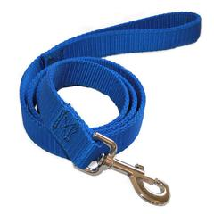 Majestic 1in x 4ft Dbl Lead Blue By Majestic Pet Products