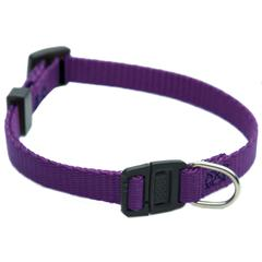 Majestic 8in - 12in Adjustable Safety Cat Collar Purple By Majestic Pet Products