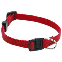 8in - 12in Adjustable Safety Cat Collar Red By Pet Products