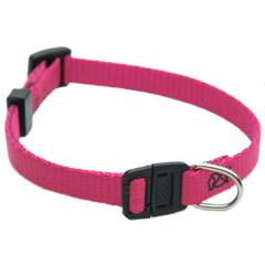 Majestic 8in - 12in Adjustable Safety Cat Collar Pink By Majestic Pet Products