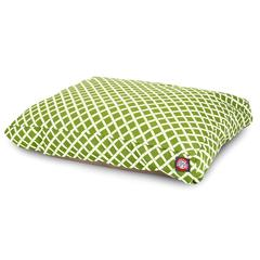 Majestic Sage Bamboo Medium Rectangle Pet Bed