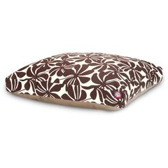 Chocolate Plantation Medium Rectangle Pet Bed