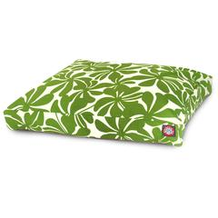 Sage Plantation Medium Rectangle Pet Bed