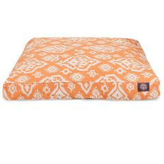 Peach Raja Small Rectangle Pet Bed