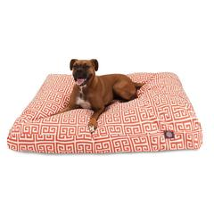 Orange Towers Extra Large Rectangle Pet Bed