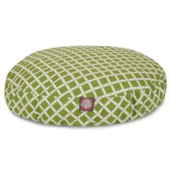 Majestic Sage Bamboo Small Round Pet Bed