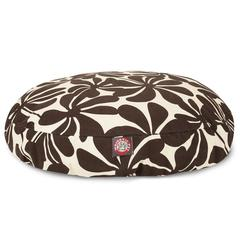 Majestic Chocolate Plantation Small Round Pet Bed