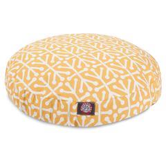 Majestic Citrus Aruba Small Round Pet Bed