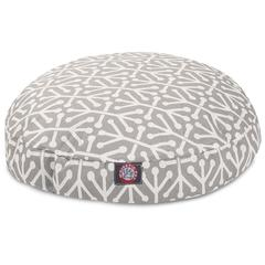 Majestic Gray Aruba Small Round Pet Bed