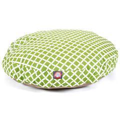 Sage Bamboo Medium Round Pet Bed