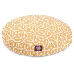 Citrus Aruba Medium Round Pet Bed