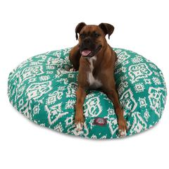 Jade Raja Large Round Pet Bed