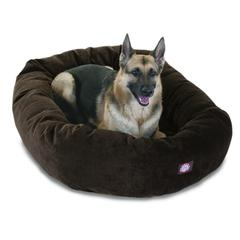 "52"" Storm Villa Collection Micro-Velvet Bagel Bed By Pet Products"