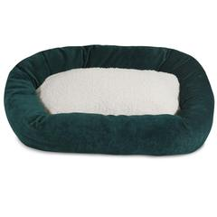 "52"" Marine Villa Collection Sherpa Bagel Bed"