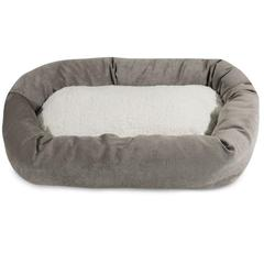 "Majestic 40"" Vintage Villa Collection Sherpa Bagel Bed"