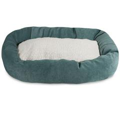 "Majestic 52"" Azure Villa Collection Sherpa Bagel Bed"