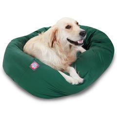 """Majestic 40"""" Green Bagel Bed By Majestic Pet Products"""