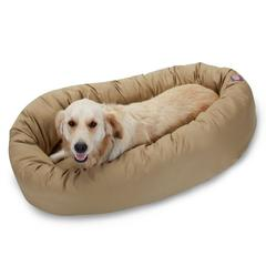 "40"" Khaki Bagel Bed By Pet Products"