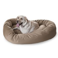 "52"" Khaki Bagel Bed By Pet Products"
