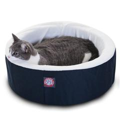 "16"" Blue Cat Cuddler Pet Bed By Pet Products"