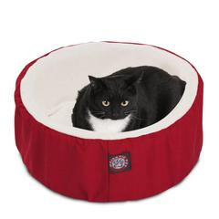 "20"" Red Cat Cuddler Pet Bed By Pet Products"