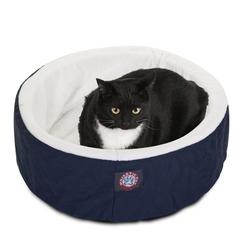 "20"" Blue Cat Cuddler Pet Bed By Pet Products"
