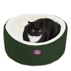 "20"" Green Cat Cuddler Pet Bed By Pet Products"