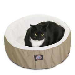 "20"" Khaki Cat Cuddler Pet Bed By Pet Products"