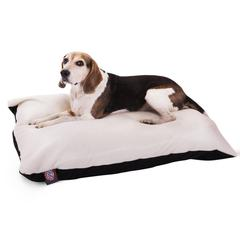 Majestic 30x40 Black Rectangle Pet Bed By Majestic Pet Products-Medium