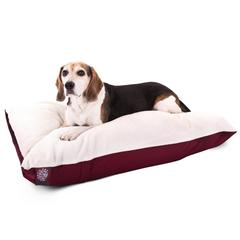30x40 Burgundy Rectangle Pet Bed By Pet Products-Medium