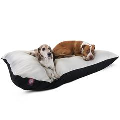 Majestic 42x60 Black Rectangle Pet Bed By Majestic Pet Products-Extra Large