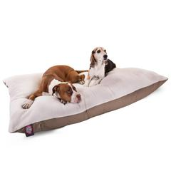 Majestic 42x60  Khaki Rectangle Pet Bed By Majestic Pet Products-Extra Large