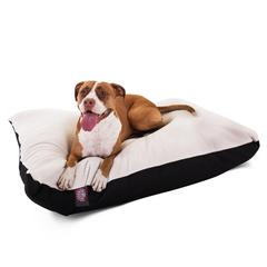 36x48 Black Rectangle Pet Bed By Pet Products- Large