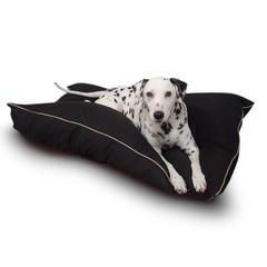 Majestic 28x35 Black Super Value Pet Bed By Majestic Pet Products-Medium