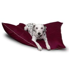 Majestic 35x46 Burgundy Super Value Pet Bed By Majestic Pet Products-Large