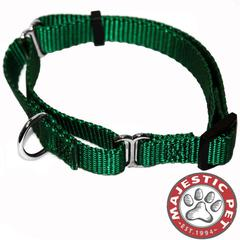 Majestic 18in - 26in Martingale Green, 100-200 lbs Dog By Majestic Pet Products