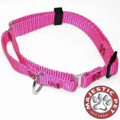 Majestic 18in - 26in Martingale Pink, 100-200 lbs Dog By Majestic Pet Products