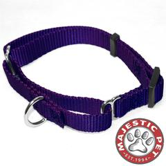 Majestic 10in - 16in Martingale Purple, 10 - 45 lbs Dog By Majestic Pet Products